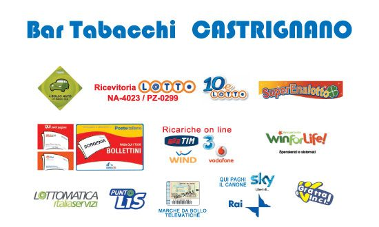 Bar Tabacchi Castrignano Carmine